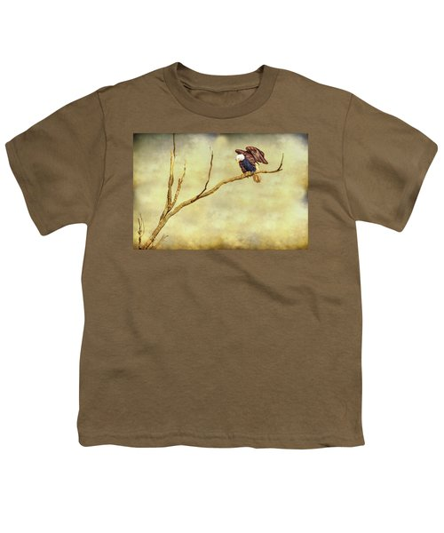 Youth T-Shirt featuring the photograph American Freedom by James BO Insogna