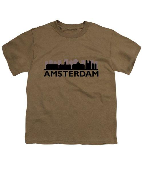 Amsterdam Skyline Youth T-Shirt