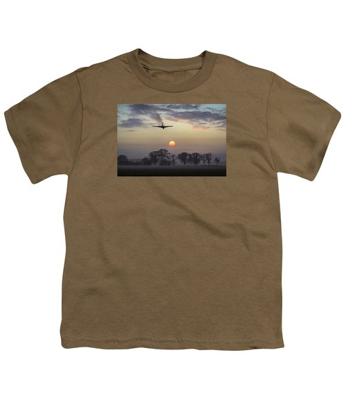And Finally Youth T-Shirt by Gary Eason