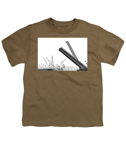 Youth T-Shirt featuring the photograph Angle Of Approach by Stephen Mitchell