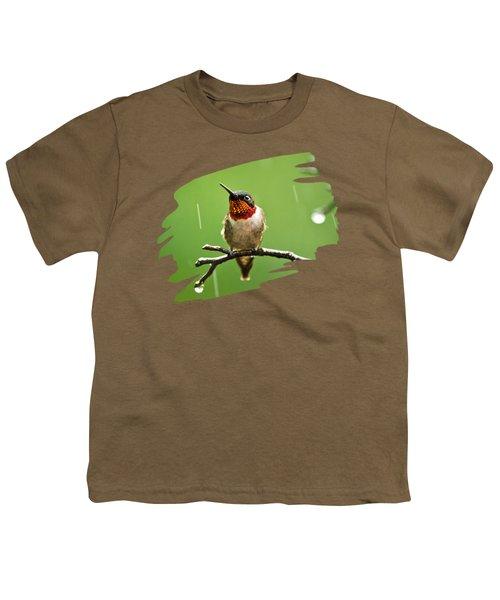 Another Rainy Day Hummingbird Youth T-Shirt