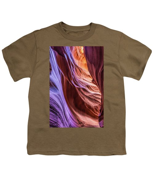 Antelope Canyon Air Glow Youth T-Shirt