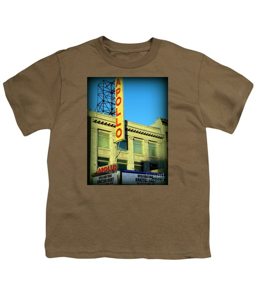 Apollo Vignette Youth T-Shirt by Ed Weidman