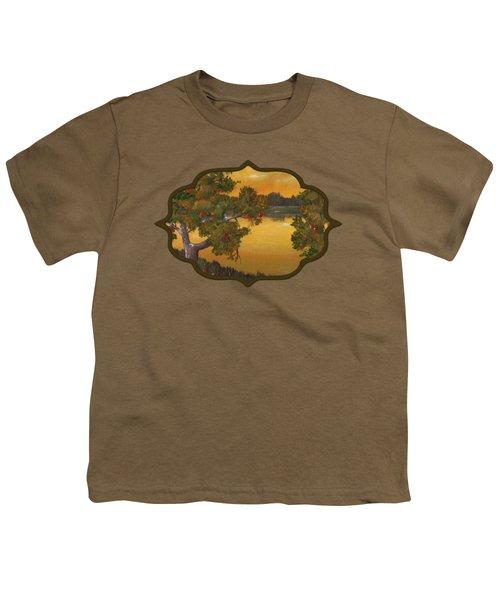Apple Sunset Youth T-Shirt