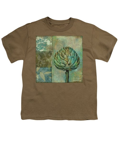 Artichoke Margaux Youth T-Shirt by Mindy Sommers