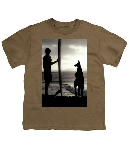 Aussie Surf Silhouettes Youth T-Shirt