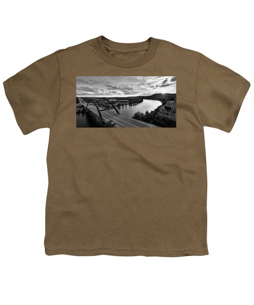 Austin 360 Pennybacker Bridge Sunset Youth T-Shirt