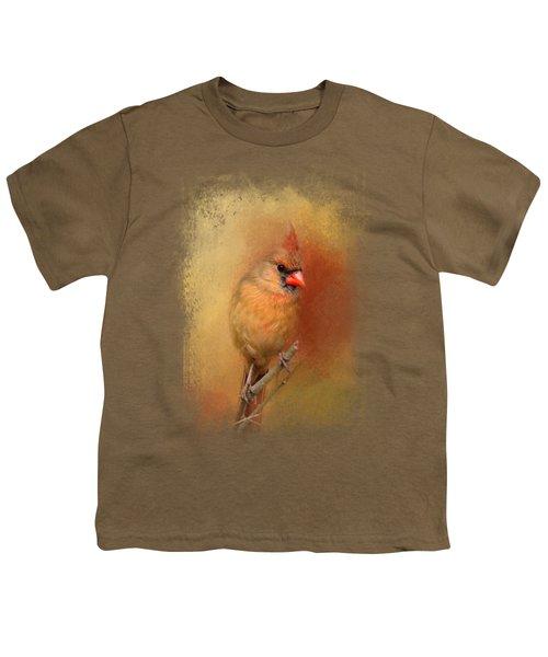 Backyard Jewel Youth T-Shirt by Jai Johnson