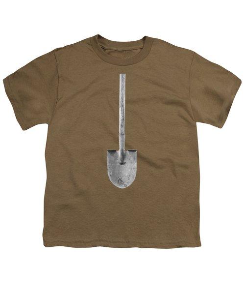 Basic Shovel Youth T-Shirt by YoPedro