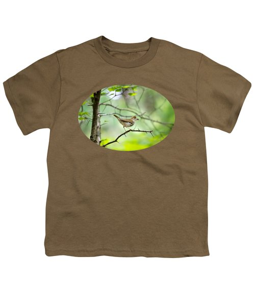Beauty Of The Spring Forest Youth T-Shirt by Christina Rollo