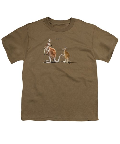 Being Tailed Youth T-Shirt by Rob Snow