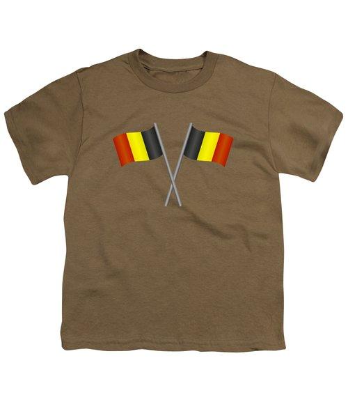 Belgium Flag Youth T-Shirt