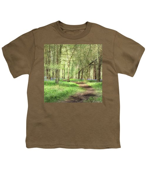 Bentley Woods, Warwickshire #landscape Youth T-Shirt by John Edwards