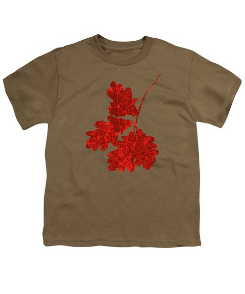 Berlin Classic Map Youth T-Shirt by Jasone Ayerbe- Javier R Recco