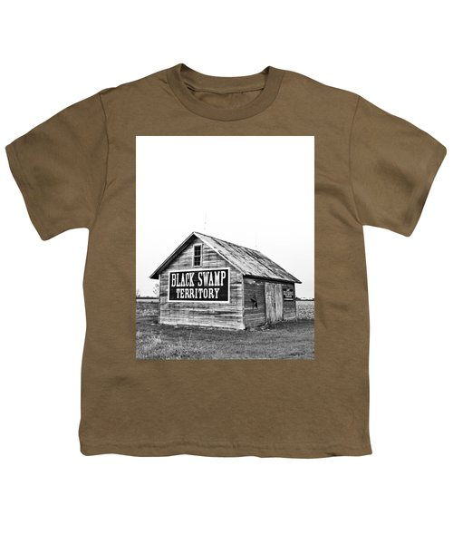 Black Swamp Territory Youth T-Shirt by Andrew Weills