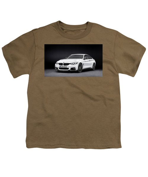 Bmw 4 Series M Performance Parts Youth T-Shirt