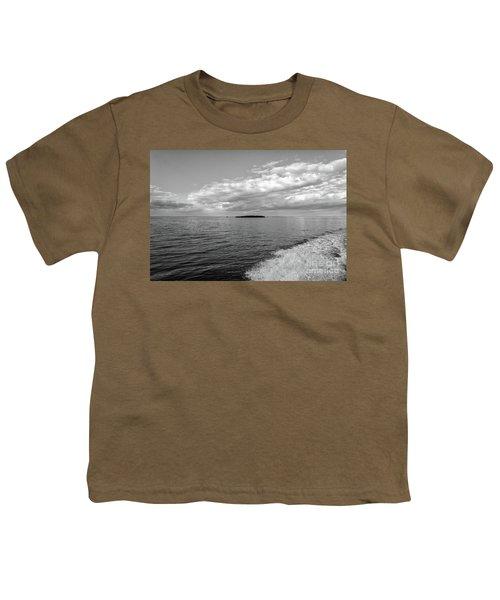 Boat Wake On Florida Bay Youth T-Shirt