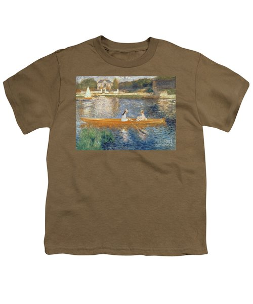 Boating On The Seine Youth T-Shirt