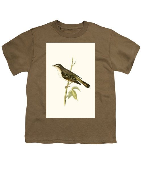 Bonelli's Warbler Youth T-Shirt by English School