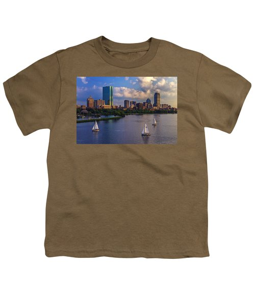 Boston Skyline Youth T-Shirt