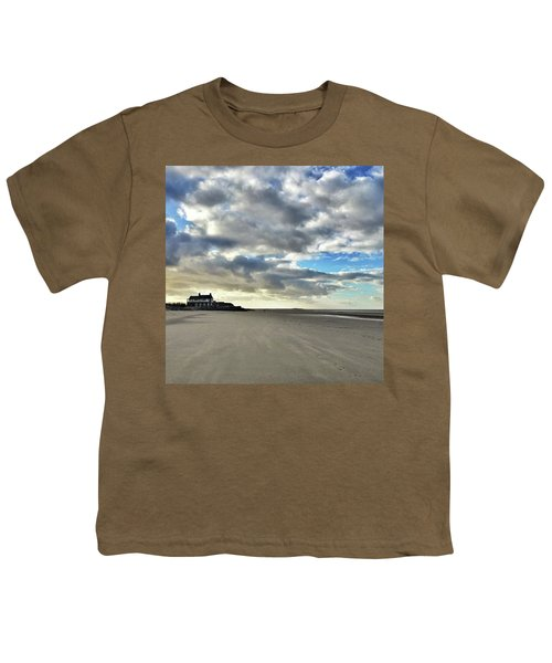 Brancaster Beach This Afternoon 9 Feb Youth T-Shirt by John Edwards