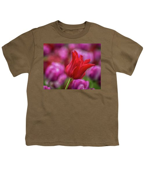 Youth T-Shirt featuring the photograph Brazenly Delicate by Bill Pevlor