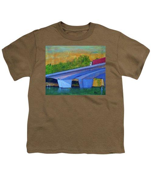 Brunswick River Bridge Youth T-Shirt
