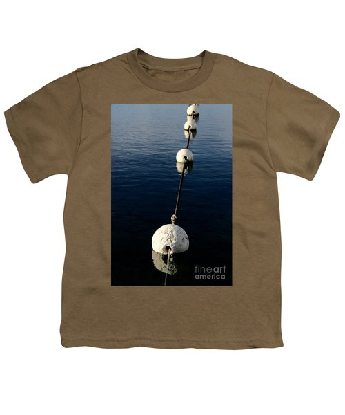 Youth T-Shirt featuring the photograph Buoy Descending by Stephen Mitchell