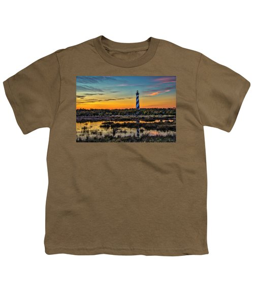 Cape Hatteras Lighthouse Youth T-Shirt