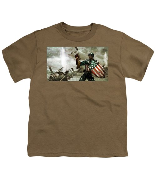 Captain America Youth T-Shirt