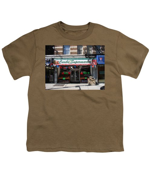 Caribe Supermarket Youth T-Shirt by Cole Thompson