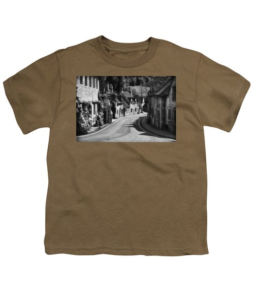 Castle Combe England 2 Bw  Youth T-Shirt
