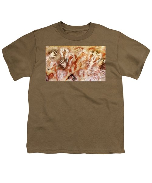 Cave Of The Hands - Cueva De Las Manos Youth T-Shirt
