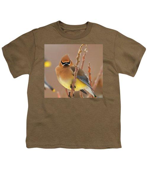 Cedar Wax Wing Youth T-Shirt