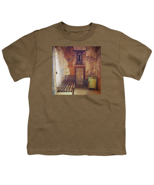 Cell At Eastern State Penitentiary Youth T-Shirt