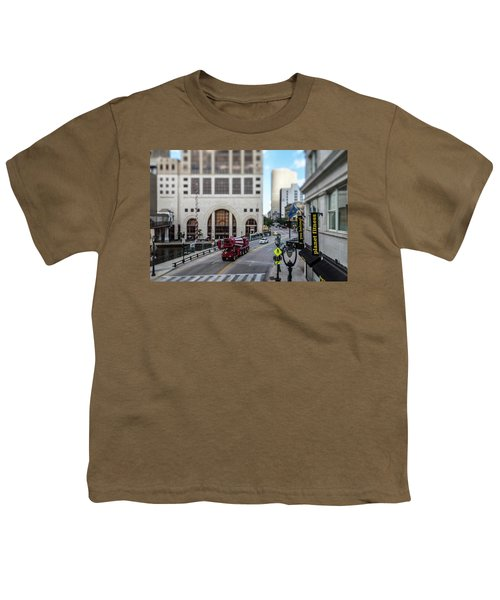 Cement Truck In The Itty-bitty-city Youth T-Shirt
