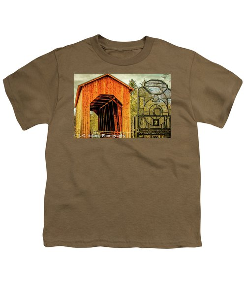 Chambers Railroad Bridge Youth T-Shirt