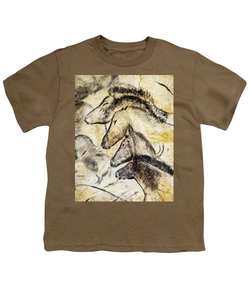 Chauvet Horses Youth T-Shirt