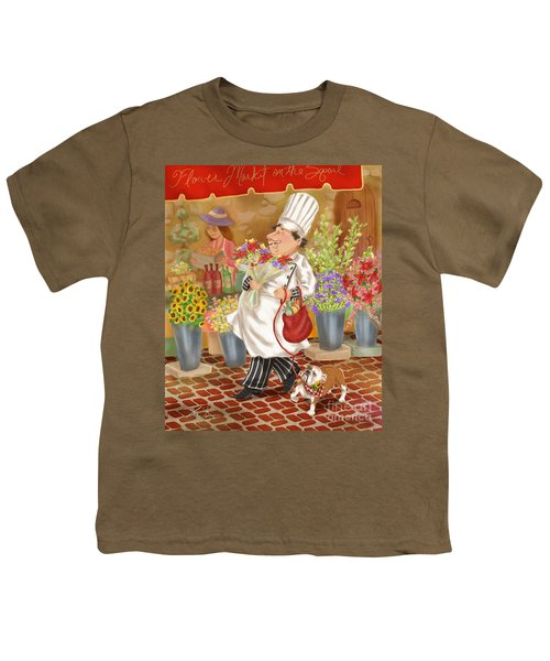 Chefs Go To Market II Youth T-Shirt