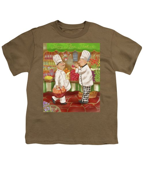 Chefs Go To Market Iv Youth T-Shirt