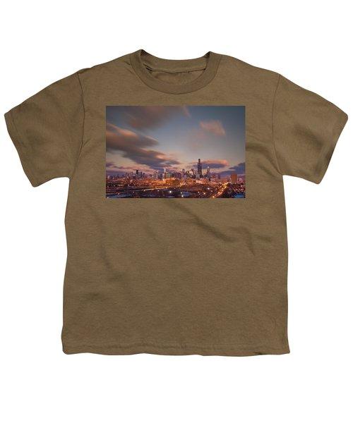 Chicago Dusk Youth T-Shirt