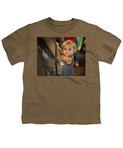 Youth T-Shirt featuring the photograph Child In The Light by Bill Pevlor