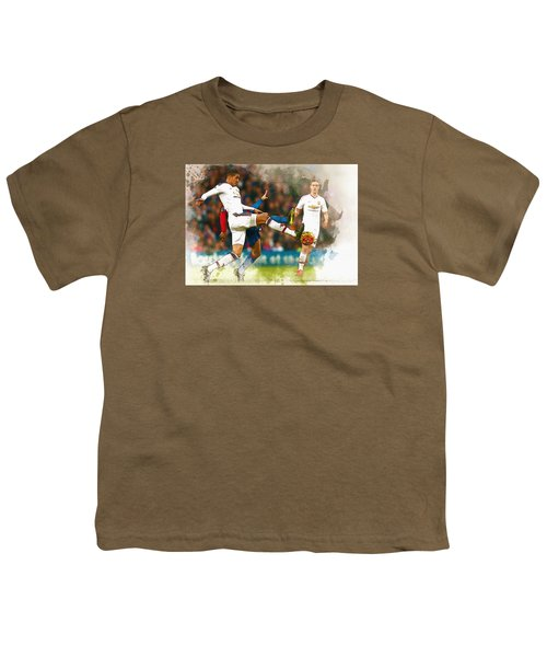 Chris Smalling  In Action  Youth T-Shirt