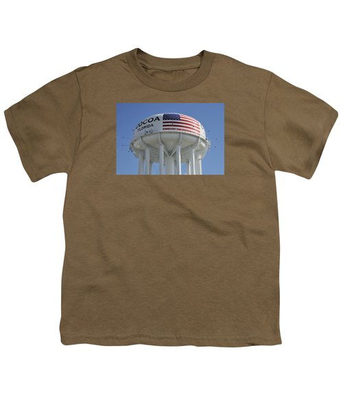 City Of Cocoa Water Tower Youth T-Shirt