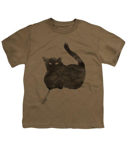 Cloudy Cat Youth T-Shirt