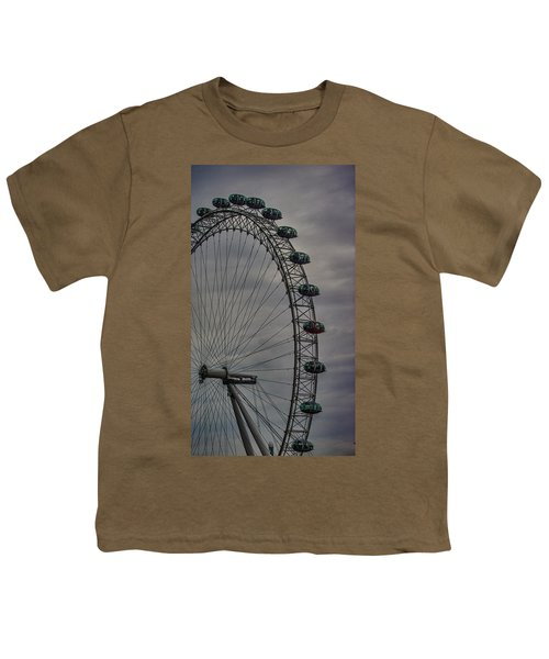 Coca Cola London Eye Youth T-Shirt by Martin Newman