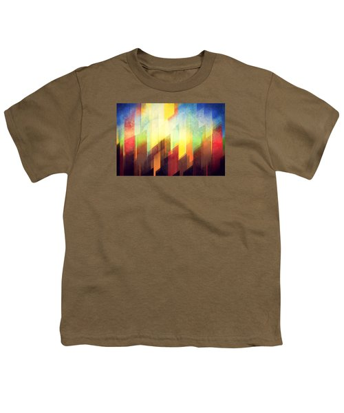 Colorful Urban Design Youth T-Shirt