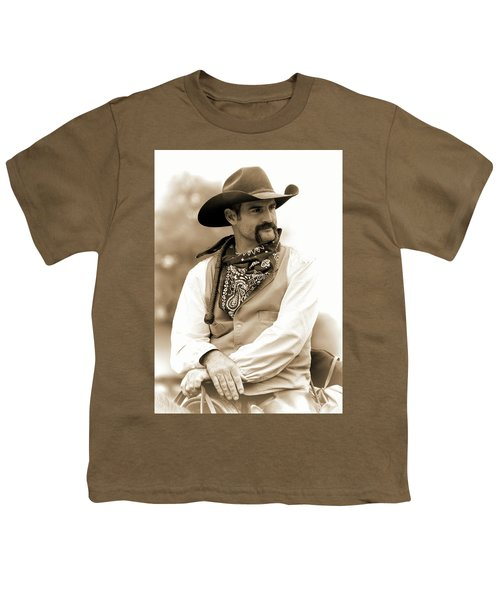 Content In The Saddle Youth T-Shirt