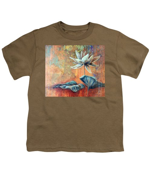 Copper Lotus Youth T-Shirt