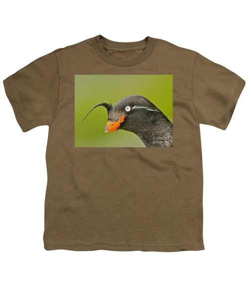 Crested Auklet Youth T-Shirt